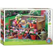 EuroGraphics Puzzle Gartenbank 1000 Teile