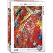 EuroGraphics Puzzle Der Triumpf der Musik von Marc Chagall 1000 Teile