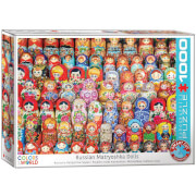EuroGraphics Puzzle Russische Matrjoschka Puppen 1000 Teile
