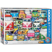 EuroGraphics Puzzle VW Bus - Funky Jam 1000 Teile
