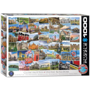 EuroGraphics Puzzle Globetrotter Großbritannien 1000 Teile