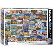EuroGraphics Puzzle Globetrotter Deutschland 1000 Teile