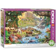EuroGraphics Puzzle Noahs Arche vor dem Regen 500 Teile