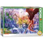 EuroGraphics Puzzle Drachenkönigreich 500 Teile