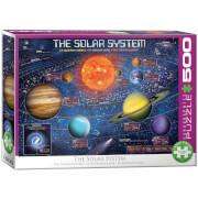 EuroGraphics Puzzle Sonnensystem 500 Teile