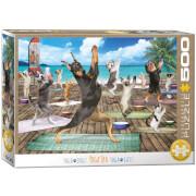 EuroGraphics Puzzle Yoga Spa 500 Teile