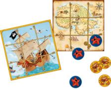 Spiel Magnet Tic Tac Toe Capt'n Sharky