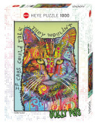Puzzle If Cats Could Talk Standard 1000 Teile