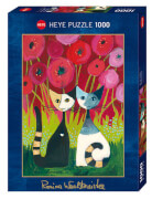 Puzzle Poppy Canopy Standard 1000 Teile