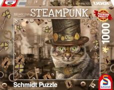 Schmidt Spiele Puzzle: Steampunk Katze 1000 Teile