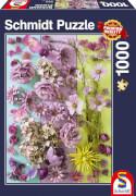 Schmidt Spiele Puzzle Violette Blüten 1000 Teile