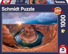 Schmidt Spiele Puzzle Glen Canyon, Horseshoe Bend am Colorado River 1000 Teile