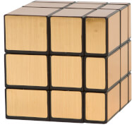 Clown Magic Puzzle Cube Gold