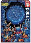 Educa - Neon Astrologer 1000 Teile