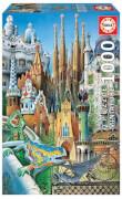 Educa - Miniature Collage Gaudi 1000 Teile