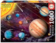 Educa - Neon Solar System 1000 Teile