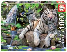Educa - Bengal White Tigers 1000 Teile