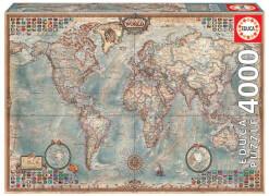 Educa - Historic World Map 4000 Teile