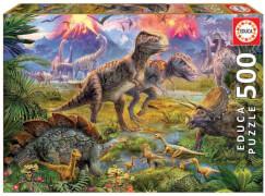 Educa - Dinosaur Gathering 500 Teile