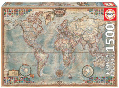Educa - Political Map of the World 1500 Teile