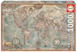 Educa - Miniature Map of the World 1000 T.