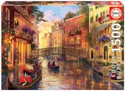 Educa - Sunset in Venice 1500 Teile
