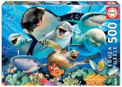 Educa - Underwater Selfies 500 Teile