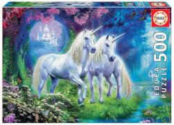 Educa - Unicorns in the Forest 500 Teile