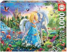 Educa - The Princess and the Unicorn 1000 Teile