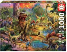 Educa - Land of Dinosaurs 1000 Teile