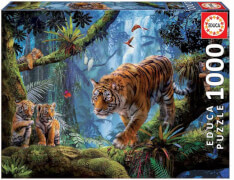 Educa - Tigers in the Tree 1000 Teile