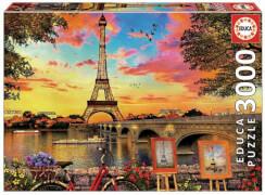 Educa - Sunset in Paris 3000 Teile
