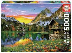 Educa - Alpine Lake 5000 Teile