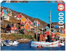 Educa - Nordic Houses 1000 Teile