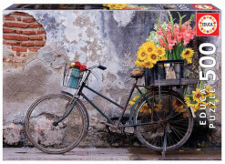 Educa - Bicycle with Flowers 500 Teile