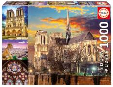 Educa - Notre Dame Collage 1000 Teile