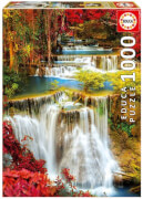 Educa - Waterfall in deep forest 1000 Teile