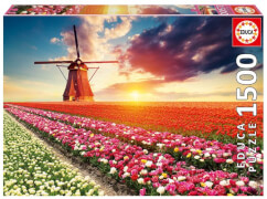 Educa - Tulips landscape 1500 Teile