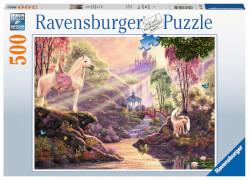Ravensburger 15035 Puzzle Märchenhafte Flussidylle 500 Teile