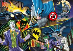 Clementoni Puzzle Supercolor - Batman 104 Teile