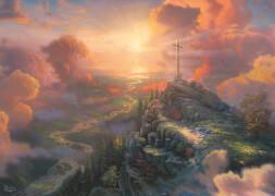 Schmidt Spiele Puzzle Thomas Kinkade, Spirit, Das Kreuz, 1000 Teile