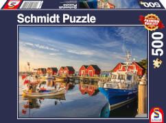 Schmidt Spiele Puzzle Fischereihafen Weiße Wiek 500 Teile