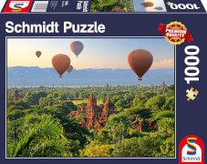 Schmidt Spiele Puzzle Heißluftballons, Mandalay, Myanmar 1000 Teile