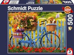 Schmidt Spiele Puzzle Sonntagsausflug mit guten Freunden 1000 Teile