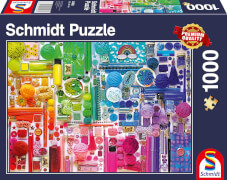 Schmidt Spiele Puzzle Regenbogenfarben 1000 Teile