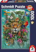 Schmidt Spiele Puzzle König des Dschungels 1000 Teile