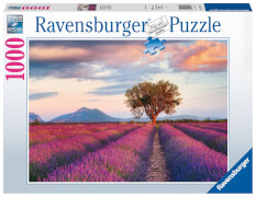 Ravensburger 16724 Puzzle Lavendelfeld in der goldenen Stunde1000 Teile