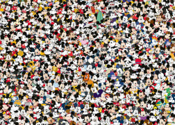 Ravensburger 16744 Puzzle Challenge Mickey 1000 Teile