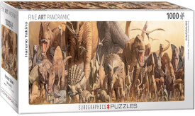 Eurographics Puzzle Dinosaurier Collage
