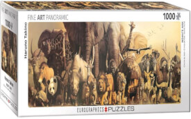 Eurographics Puzzle Tiere der Arche Noah
